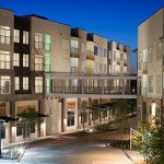 AMLI at La Villita Apartment Building Area