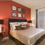 Alta Lakeshore Lofts Apartment Bedroom.
