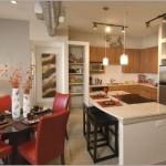 Alta Lakeshore Lofts Apartment Dining Area