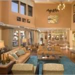 Alta Lakeshore Lofts Apartment Living Area