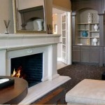 Archstone at Macarthur Apartment Fireplace