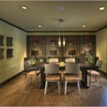 Chaparral Creek Apartment Dining Area