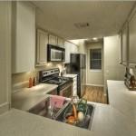 Chaparral Creek Apartment Kitchen