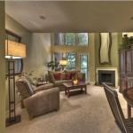 Chaparral Creek Apartment Living Area