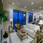 Grand Treviso Condominiums Apartment Living Room.