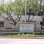 Hidden Ridge on the Canal Apartment Entrance