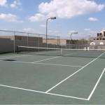 Hidden Ridge on the Canal Apartment Tennis Court