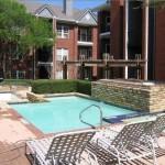 Jefferson Park Apartment Building Pool