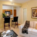 Jefferson Park Apartment Living Room