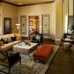 La Villita Apartment Living Area