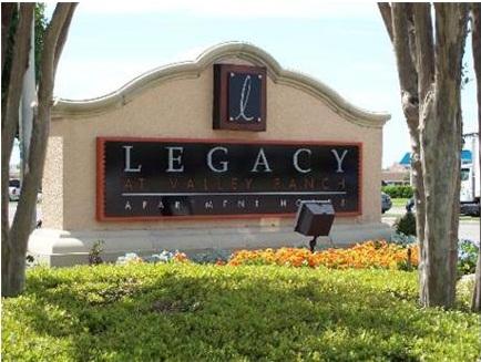 Legacy At Valley Ranch Apartment Entrance Lascolinas
