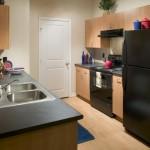 Mission at La Villita Apartment Kitchen