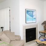 Oaks Hackberry Creek Apartment Living Room