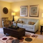 Parkridge Place at Las Colinas Apartment Living Room
