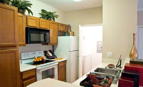 The Marabella At Las Colinas Apartment Kitchen