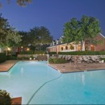 Vistas at Hackberry Creek Apartment Pool Area